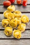 Pasta casalinga dei ravioli Fotografia Stock
