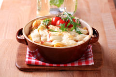 Pasta casserole Royalty Free Stock Images