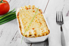 Pasta casserole Royalty Free Stock Photography