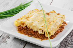 Pasta casserole Stock Photo