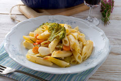 Pasta Casserole with vegetables Stock Photography