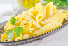 Pasta with cheese Royalty Free Stock Images
