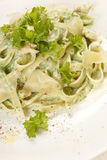 Pasta with chicken Stock Photography