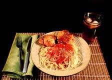 Pasta and Chicken Stock Photos
