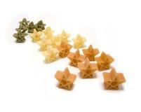 Pasta christmas stars Stock Photography