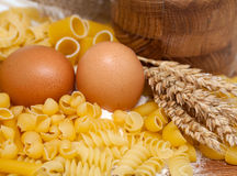 Pasta close up Royalty Free Stock Image