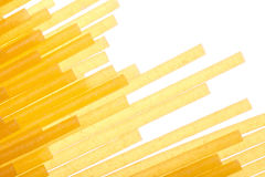 Pasta close-up on white Royalty Free Stock Images