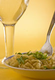 Pasta closeup Stock Photography