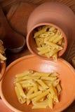 Pasta closeup Stock Photos