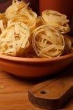 Pasta closeup Stock Photography