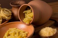 Pasta closeup Stock Image