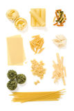 Pasta collection 2 Royalty Free Stock Photos