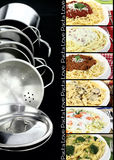 Pasta collection Stock Image