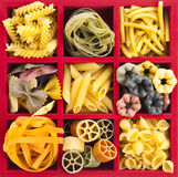 Pasta Collection royalty free stock photo
