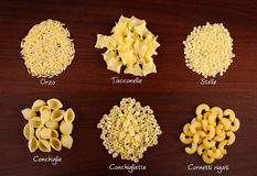 Pasta collection 3. Stock Image
