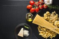 Pasta collection Royalty Free Stock Photos