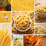 Pasta collection Royalty Free Stock Images