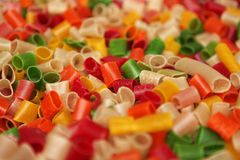 Pasta colores Stock Images