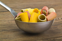 Pasta colors Stock Photos