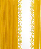 Pasta composition with space for simply text Stock Image
