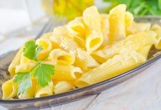 Pasta con formaggio Immagini Stock Libere da Diritti