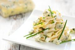 Pasta con gorgonzola Fotografie Stock