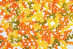 Pasta con il colorante Fotografia Stock Libera da Diritti