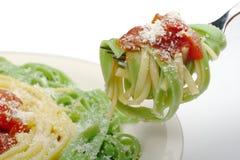 Pasta con Tomatosauce immagini stock libere da diritti