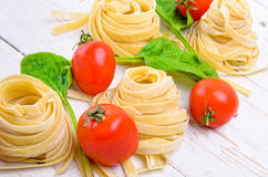 Pasta. Concept of cooking. Stock Image