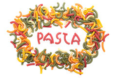 Pasta confetti Royalty Free Stock Photography