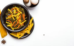 Pasta for cooking. Stock Photos