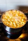 Pasta cooking Stock Photos