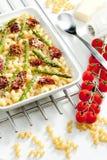 Pasta cotta Fotografie Stock