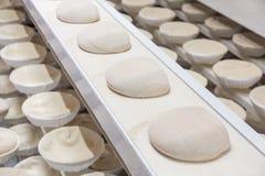 Pasta cruda antes de cocer Imagen de archivo