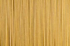 Pasta cruda del grano intero Immagine Stock