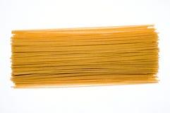 Pasta cruda del grano intero Immagini Stock Libere da Diritti