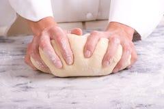 Pasta d'impastamento Immagini Stock