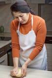 Pasta d'impastamento Fotografie Stock
