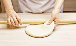 Pasta d'impastamento Fotografie Stock Libere da Diritti