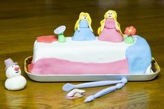 Pasta de azúcar de las princesas Fotografía de archivo