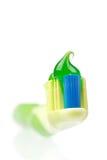 Pasta de dente Imagem de Stock