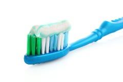 Pasta de dente Fotografia de Stock