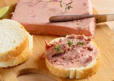 Pasta de fígado Imagem de Stock