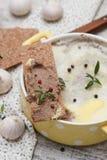 Pasta de fígado da galinha Imagem de Stock