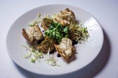 Pasta de fígado do coelho fotografia de stock royalty free