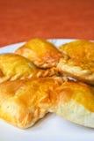 Pasta de hojaldre Fotografía de archivo