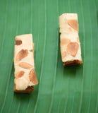 Pasta de hojaldre de la almendra Imagen de archivo