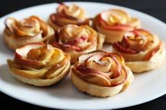 Pasta de hojaldre fresca Fotos de archivo libres de regalías