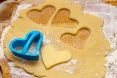 Pasta de la galleta Fotos de archivo libres de regalías