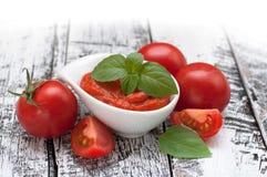 Pasta de tomate Foto de Stock Royalty Free